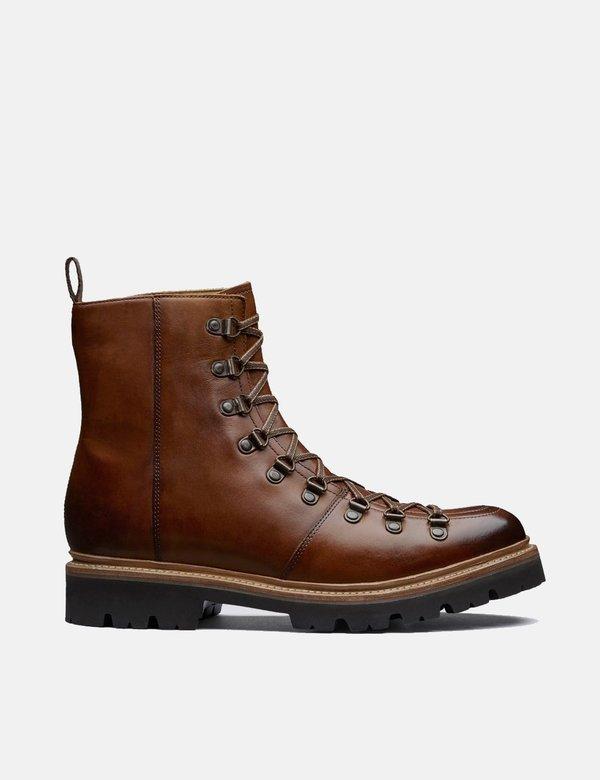 Grenson Brady Colorado Leather Ski Boot - Tan