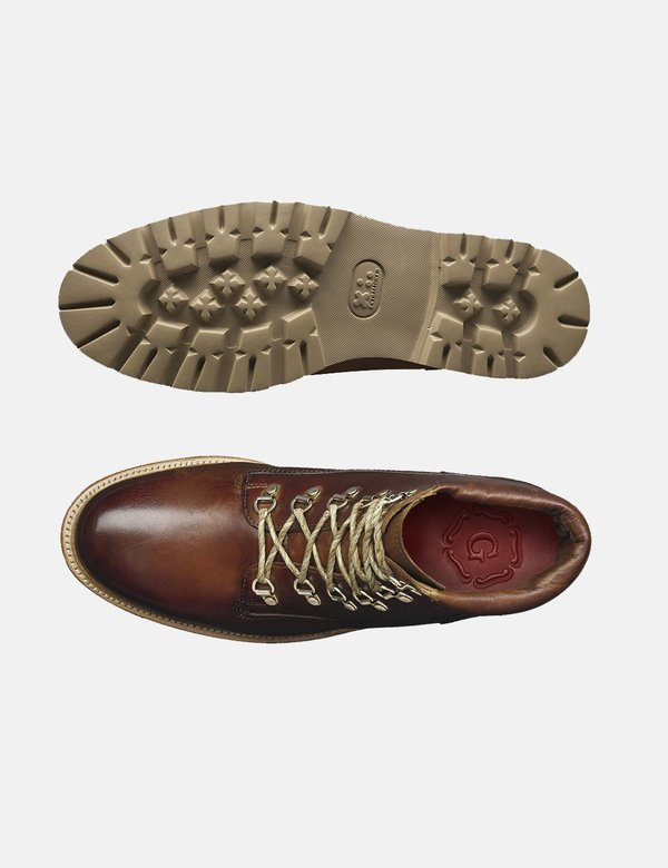 Grenson Rutherford Leather Boot - Tan