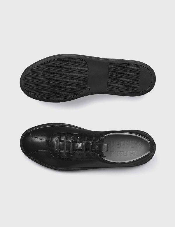 Grenson Leather Sneakers 1 - Black/Black