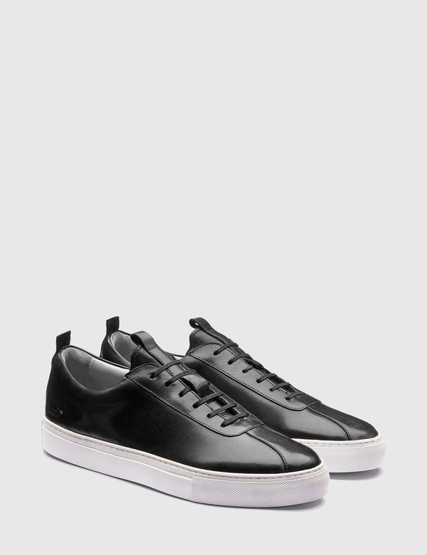 Grenson Sneakers No. 1 - Black/White