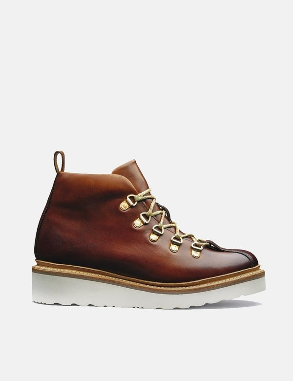 Grenson Leather Bridget Ski Boot - Tan