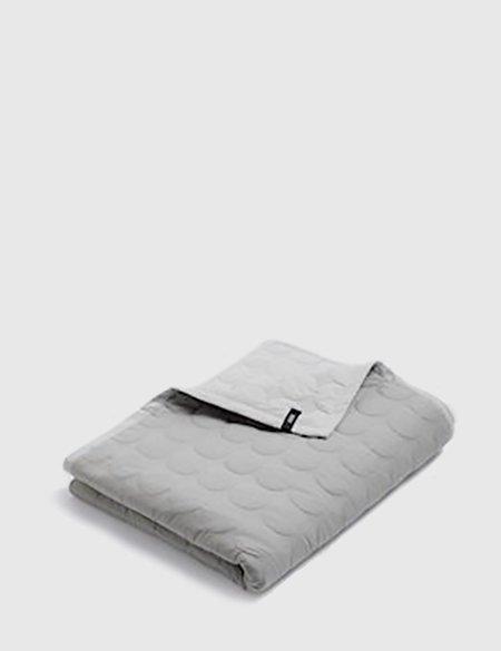 Hay Mega Dot Blanket (245 x 235cm) - Light Grey