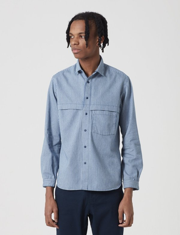 Manastash O.D Work Shirt - Navy Blue