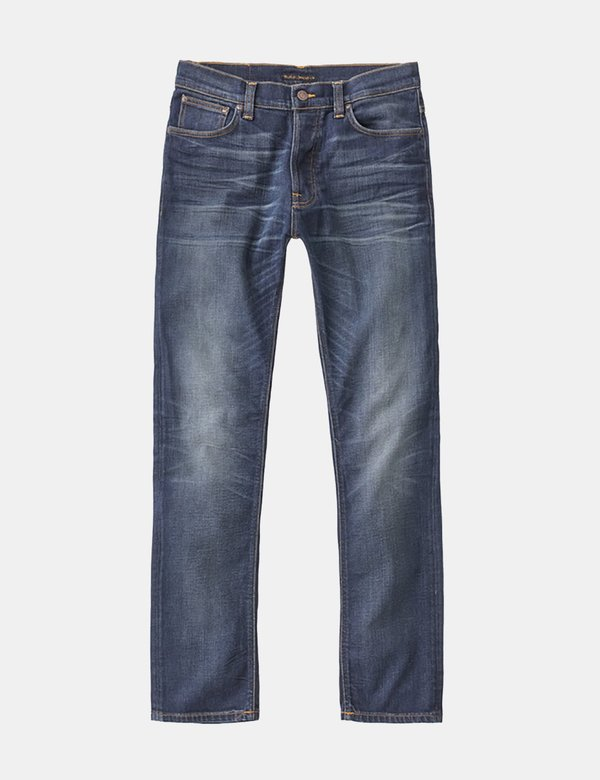 Nudie Dude Dan Regular Jeans - Bruised Blue