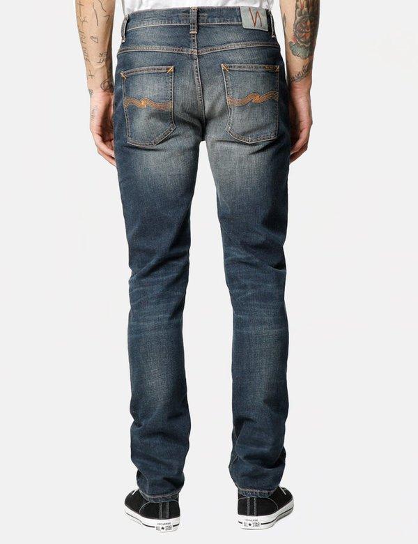 Nudie Dude Dan Regular Jeans - Dark Authentic Comfort