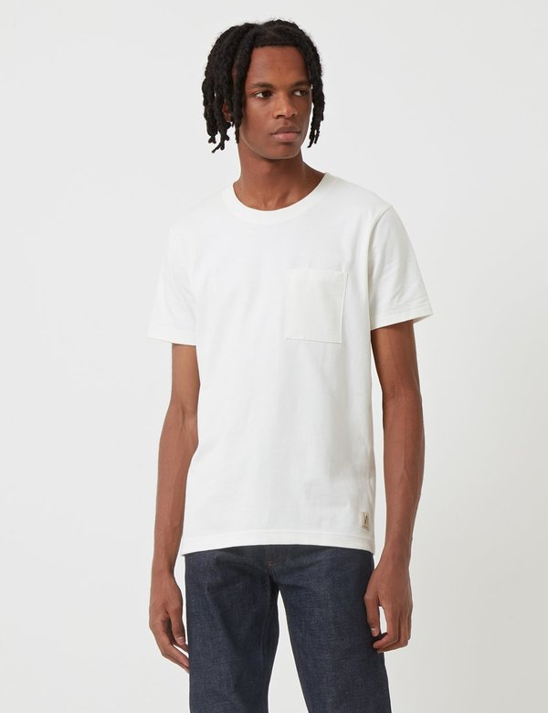 eafe12c14 Nudie Kurt Worker T-Shirt - Off White   Garmentory