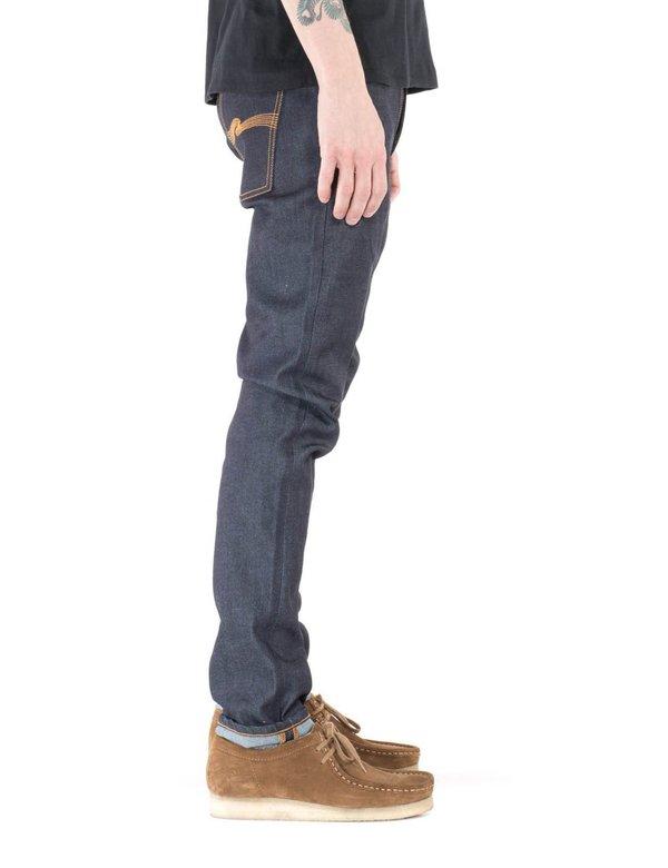 Nudie Lean Dean Slim Tapered Jeans - Dry 16 Dips