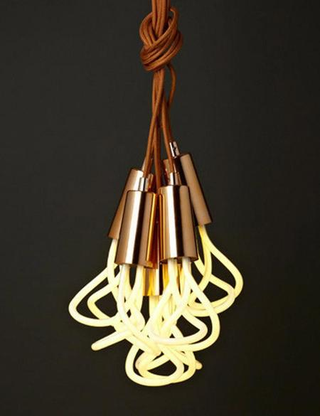 Plumen Original 001 Drop Cap + Pendant Set (11W) - Copper