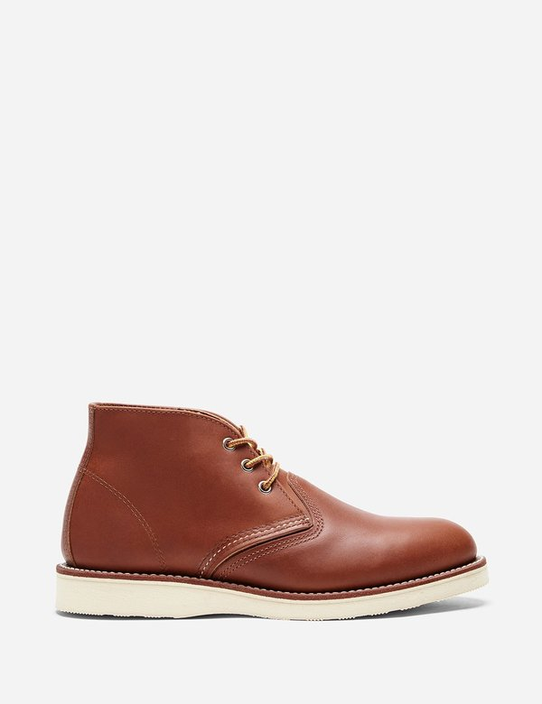 Red Wing Shoes Leather Chukka Boot 3140 - Tan