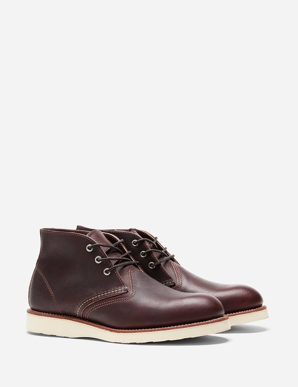 Red Wing Shoes Leather Chukka Boot 3141 - Brown