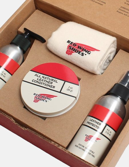 Red Wing Shoes Red Wing Oil Tanned Leather Gift Pack - Natural
