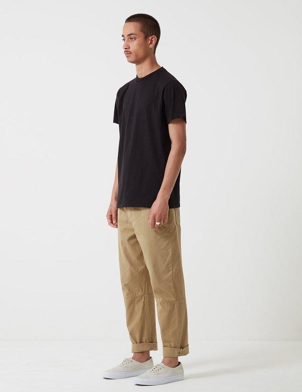 Velva Sheen Classic Tubular T-shirt - Washed Black
