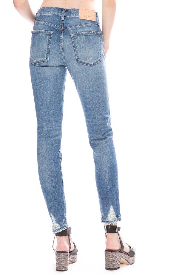 Moussy Velma Skinny Jean - Blue