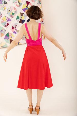 Carleen Louise Wrap Dress