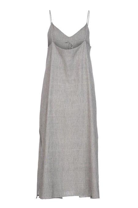 Par en Par The Cala Slip Dress - Stripe