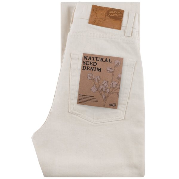 Naked & Famous Seed Denim - Natural