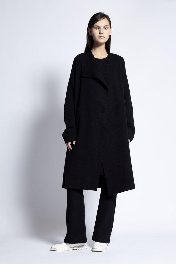 Oyuna Naran Cashmere Coat - Black