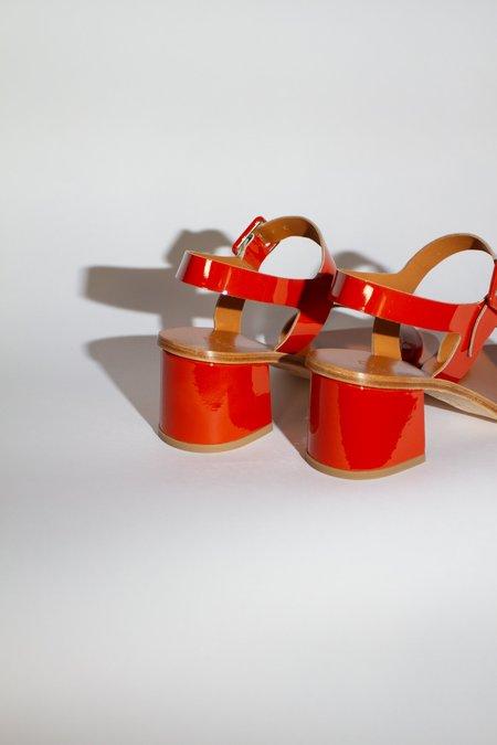 LOQ Altea Patent Leather Sandal - Safron