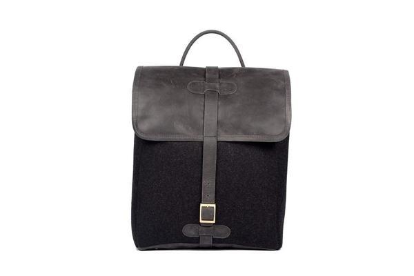 monte & coe Camden Backpack - Black