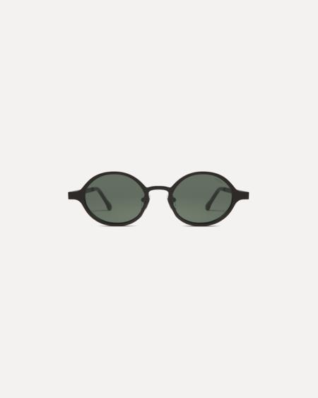 UNISEX KOMONO Quin Sunglasses - Black Matte