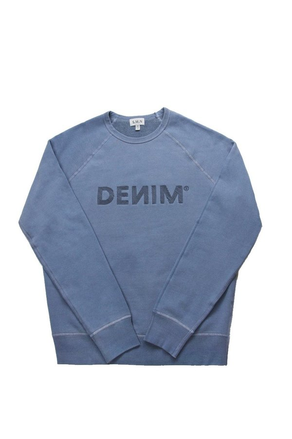 S.M.N. Denim Sweatshirt