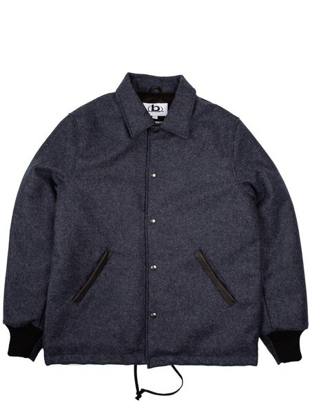 Golden Bear Coach Jacket - Navy Wool