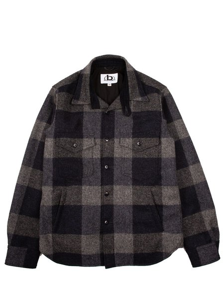 Golden Bear CPO Jacket - Checkered Navy Wool