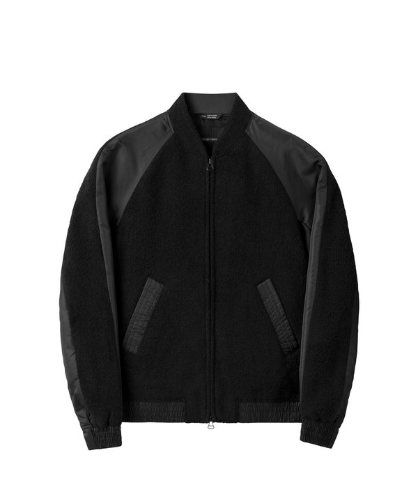 Wings+Horns W+H Souvenir Jacket - BLACK