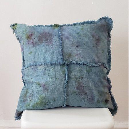 A_DB Botanical Color Botanically Dyed Indigo Confetti Cushion Cover