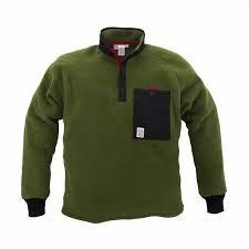 Mens Topo Designs Fleece Jacket