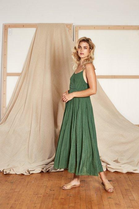 Rujuta Sheth Goa Slip Dress - Fern