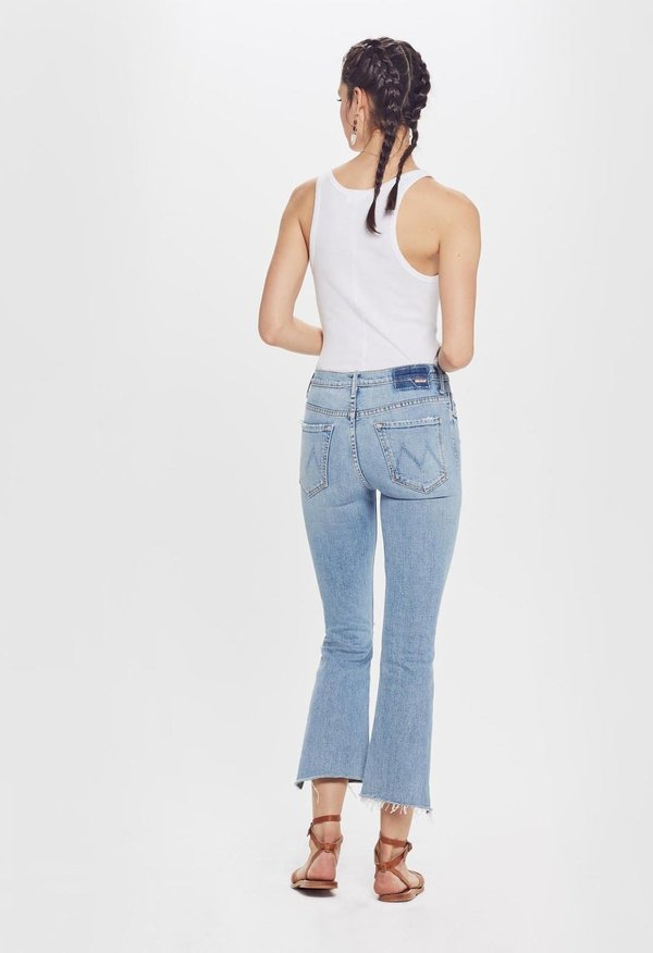 Mother Denim The Insider Crop Step Fray - The Problem With Miracles
