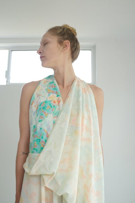 Anntian Dress - Pale rose