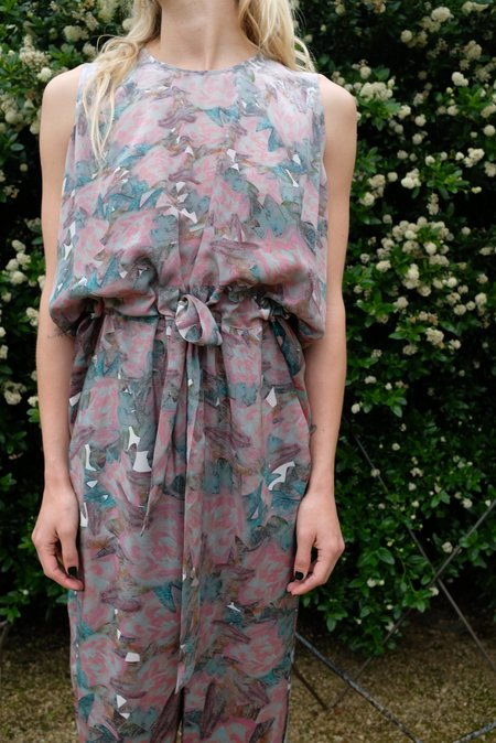 Anntian Long Overall Panel Print