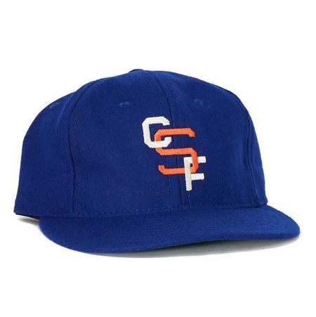 Ebbets Field Flannels Cal State Fullerton 1965 Ballcap - blue