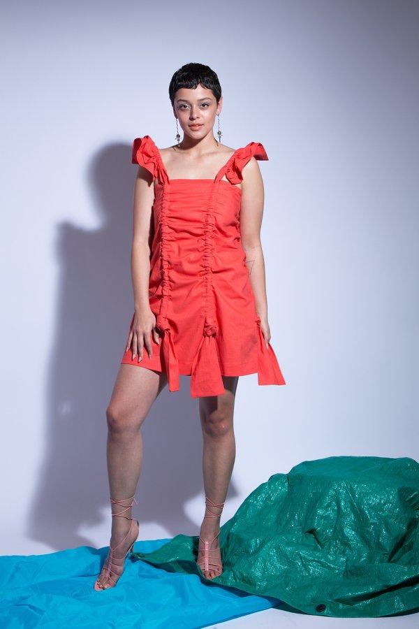 Desireeklein Antoinette Dress - tomato red