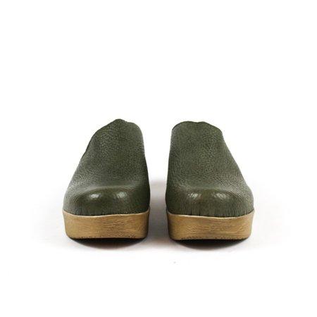 Calou Lea mule clog - olive