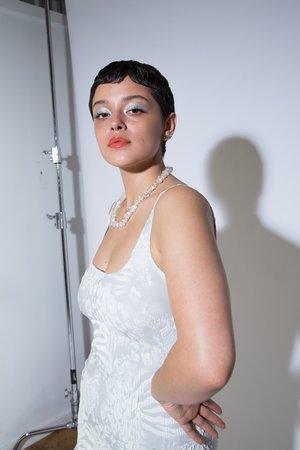 Maryam Nassir Zadeh Salma Dress - white