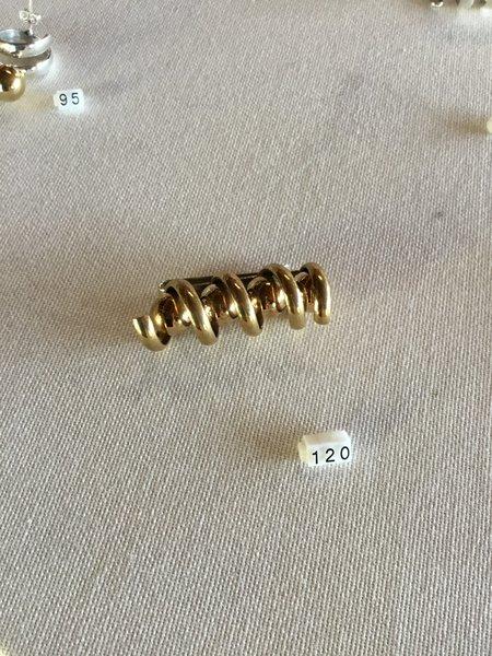 tumbaga spiral clip