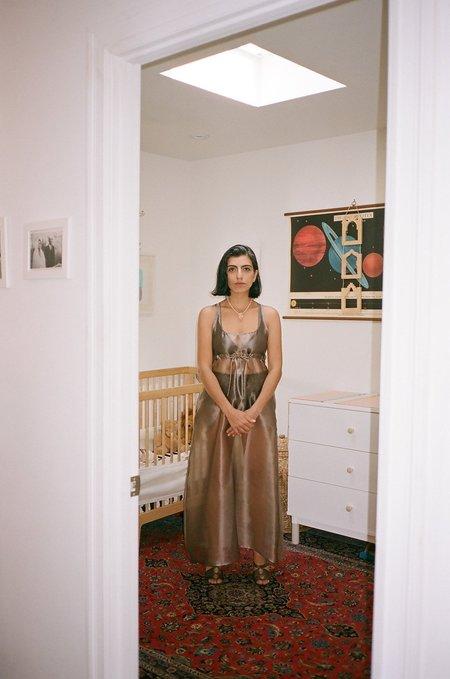 Maryam Nassir Zadeh Hydra Dress - Transparent