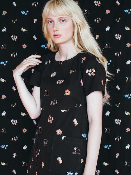 Samantha Pleet Lantern Dress