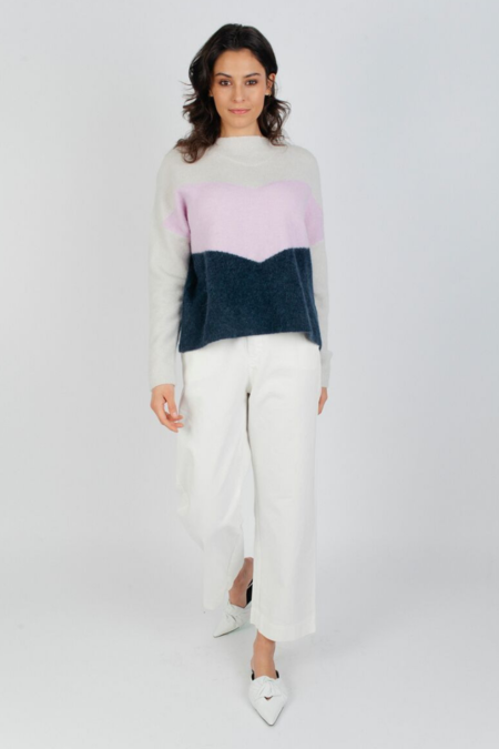 Just Female Herle Knit - Lavender Frost
