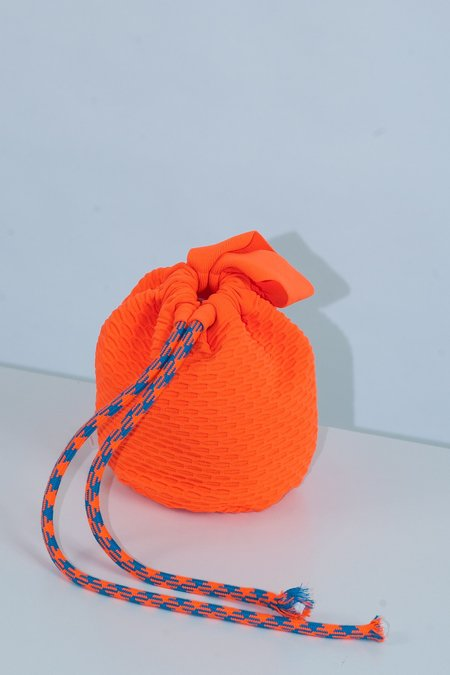 Angus Chiang Successful Bucket Bag - Orange