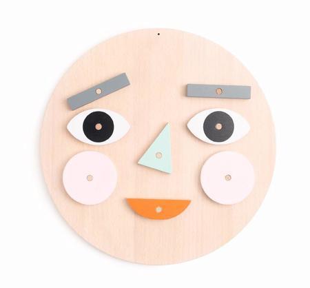 Kids Moon Picnic Make A Face Kit