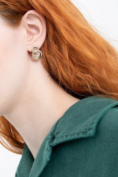 J Hannah Duet Earrings - Gold