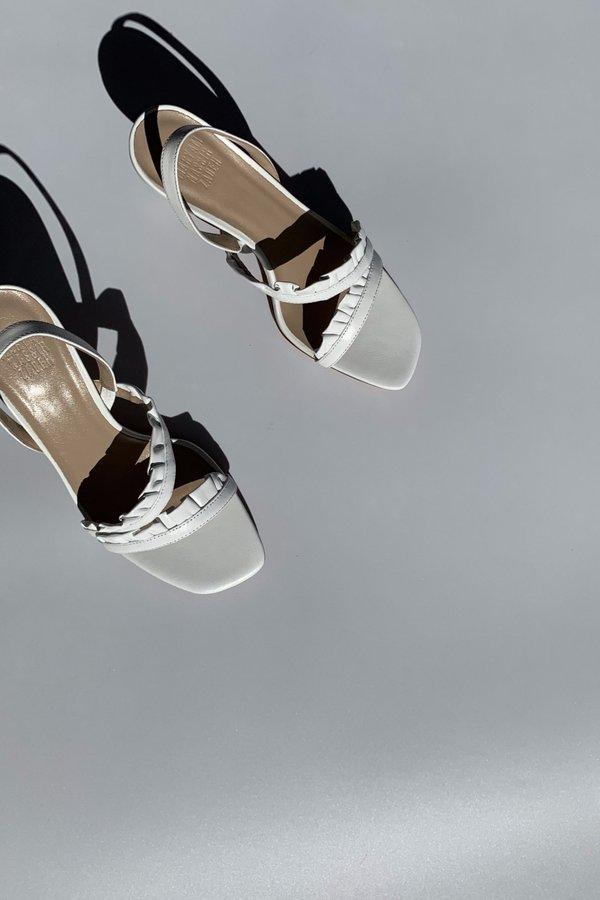 Maryam Nassir Zadeh Estrella Heel - White