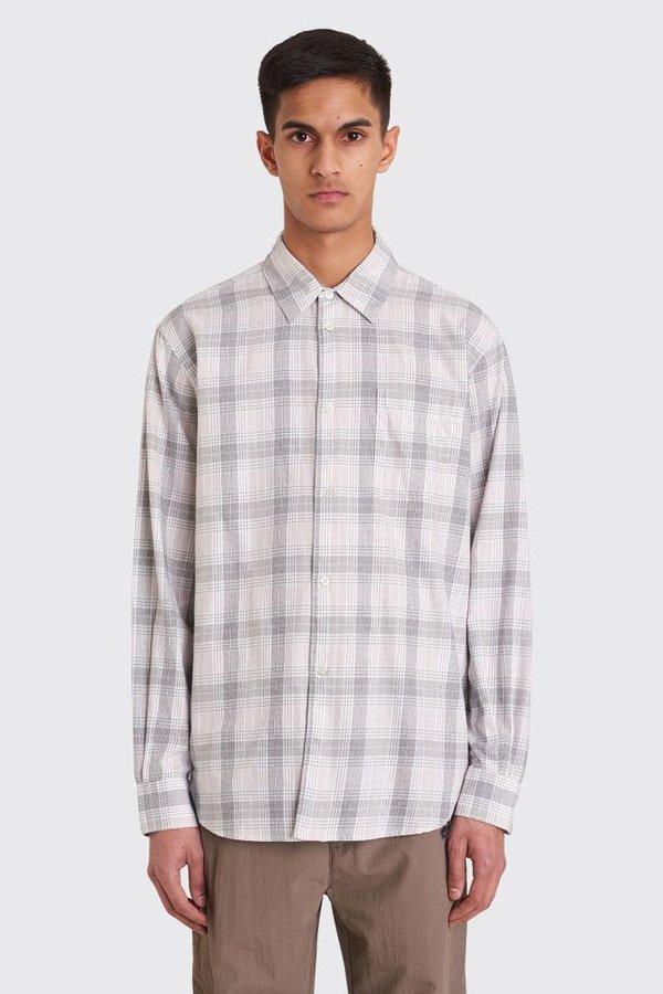 Tres Bien Classic Shirt - Pink Dogwood Check