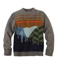 Men's Woolrich Mountain Range Crew Sweater