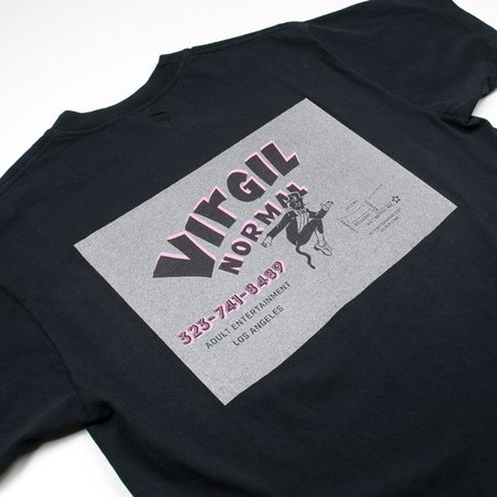 Virgil Normal Map Point T-shirt - Black