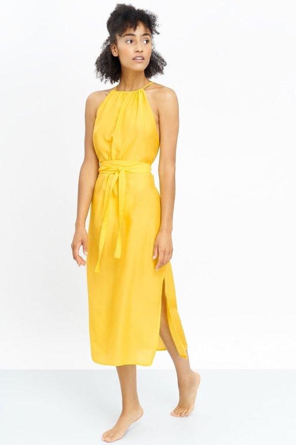 Jungle Folk Ella Dress - Yellow